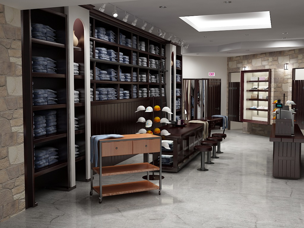3D-retail-shop-Modeling-Visualization-Rendering